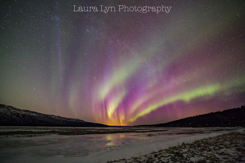 Taken South of Fairbanks in March 2015