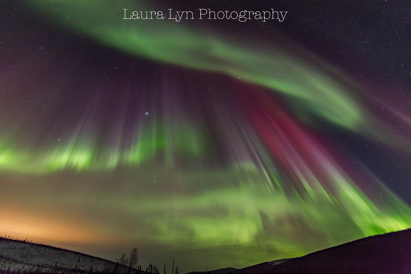 Taken North of Fairbanks in April 2014.