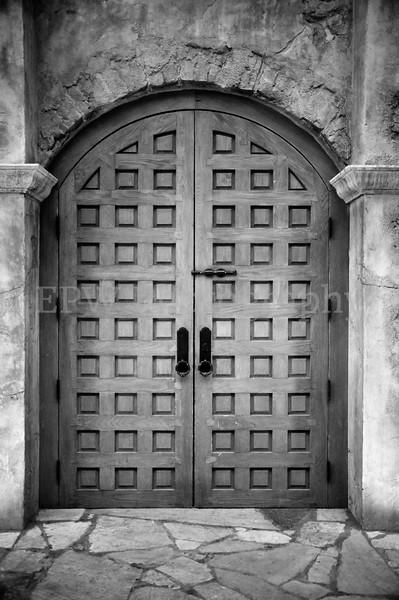 Patterned Doors