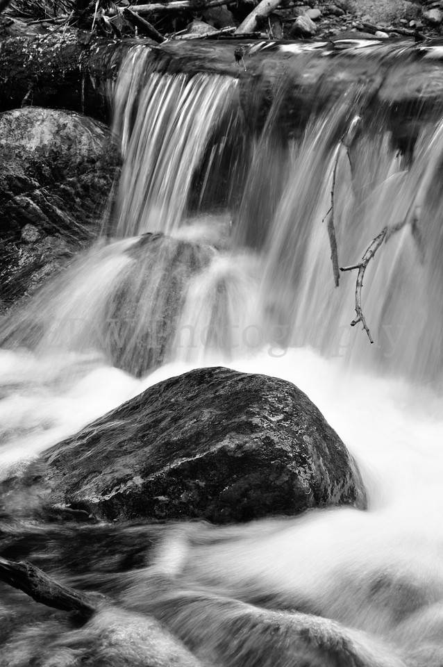 Black & White Cascade