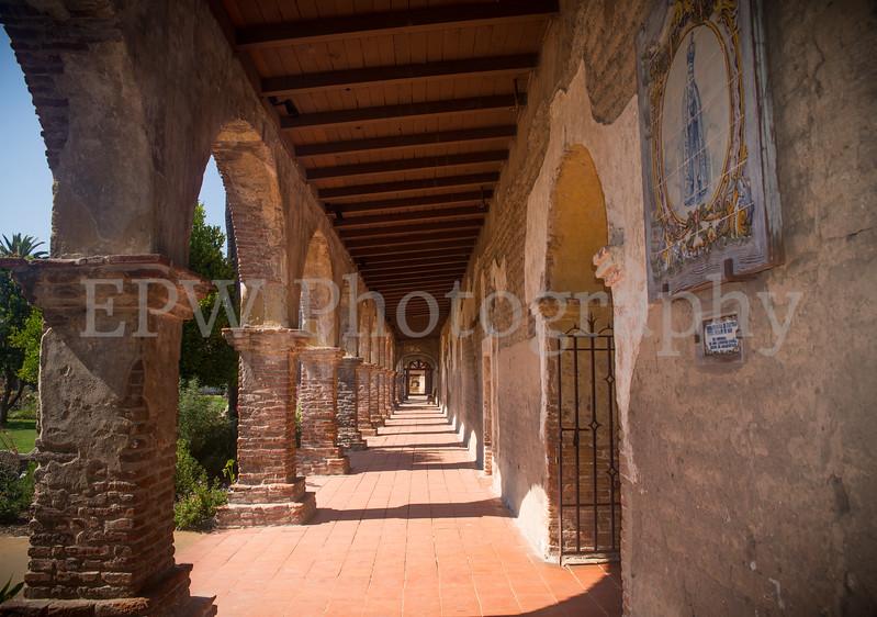 Walls of San Juan Capistrano