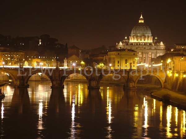 St. Peter's at Night I