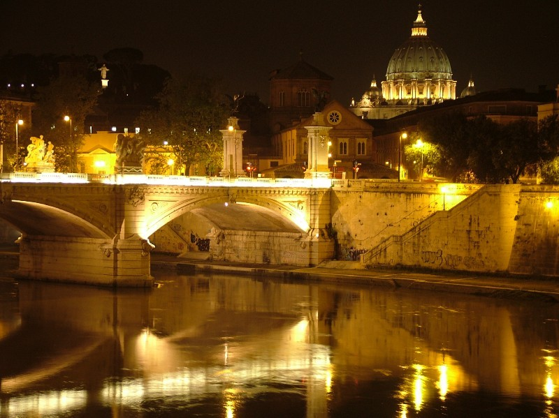 St. Peter's at Night II