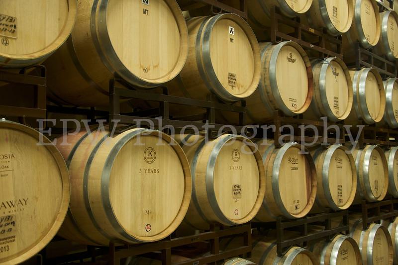 Wine Barrels I