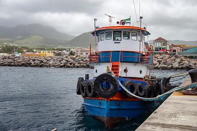 Caribbean Tug Boat