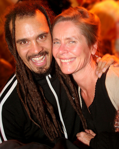 Michael Franti after Ashtanga and the concert