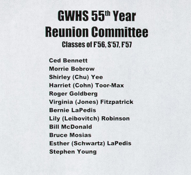 Reunion Committee