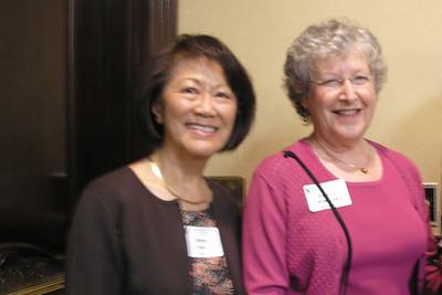(l-r) Shirley (Chu) Yee, Barbara (Winslow) Schechner