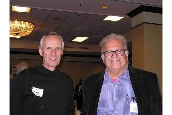 (l-r) Frank Colligan, Herb Weiner