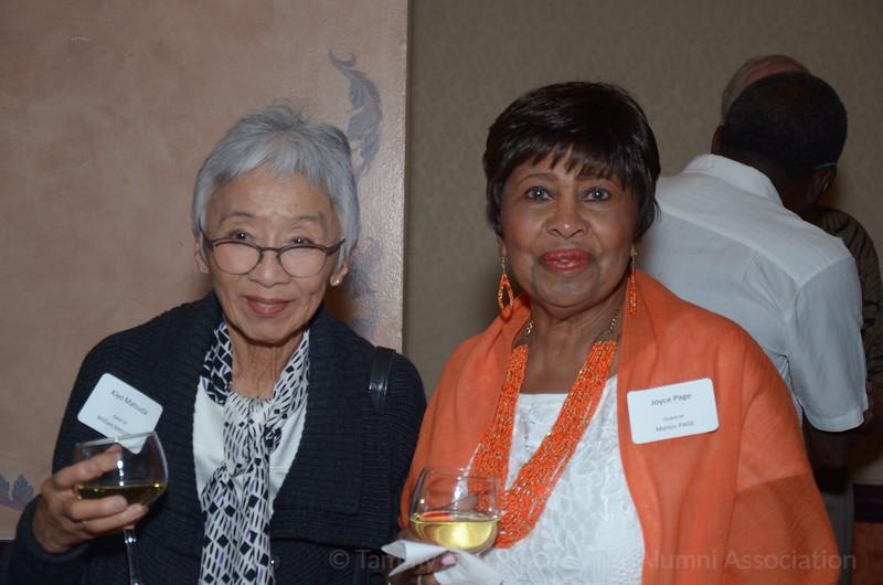 (l-r) Kiyo Matsuda, Joyce Page