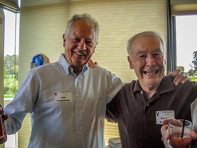 (l-r) Jim Fitzpatrick, Frank Batmale