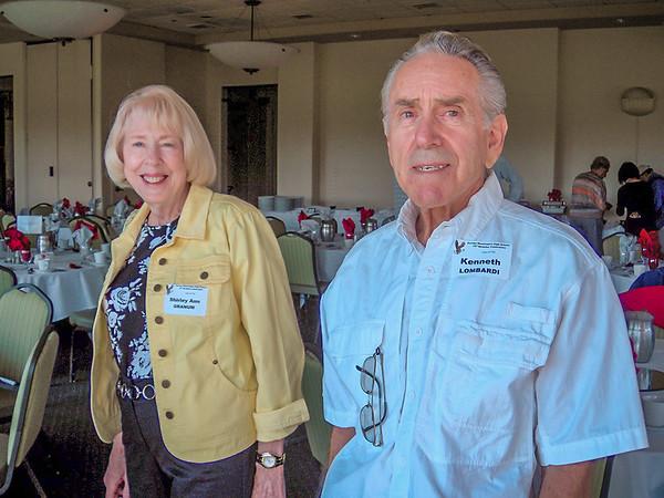 (l-r) Shirley Ann Granum, Kenneth Lombardi