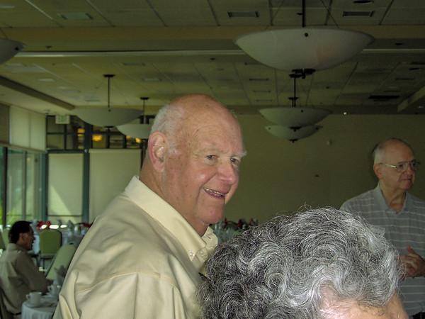 (l-r) John Casserly, Bernie LaPedis