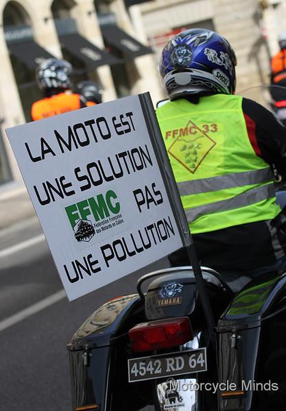 FFMC - France - Demo - Bordeaux - October 2015