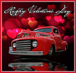 Valentine's Day truck card