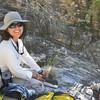 Jessica Aquino, an intern with the Desert Botanical Garden. Photo by Desert Botanical Garden.