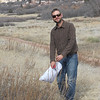 Tarragon - Artemisia dracunculus (ARDR4) collecting in Colorado. Photo by Peter Gordon & Darnisha Coverson, BLM CO.