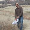 Tarragon - Artemisia dracunculus (ARDR4) collecting in Colorado. Photo by Peter Gordon & Darnisha Coverson, BLM CO.