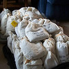 Bagged seed collections in Kotzebue, Alaska. Photo by BLM AK.