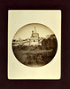 Tomb of Absalom, Jerusalem, c. 1888. #1 Kodak Albumen Print Mounted on Card
