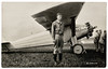 Underwood and Underwood. Charles A. Lindbergh and The Spirit of St. Louis, c. 1927. Gelatin Silver Print
