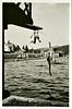 Boys Diving, c. 1940s. Gelatin Silver Print Snapshot