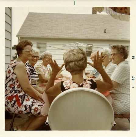A Good Story,1970. Dye Coupler Print Snapshot