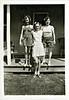 Girlfriends, c. 1945. Gelatin Silver Print Snapshot