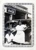 Waitresses, c. 1940. Gelatin Silver Print Snapshot