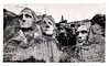 Mt. Rushmore Under Construction, Black Hills, SD, 1936. Gelatin Silver Print Snapshot
