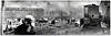 A. B. Atwood. Boy with Cinder in his Eye, Chelsea Fire, Chelsea, MA 1908. Gelatin Silver Print Panorama from a collection of 39 snapshots and 13 panoramas documenting the fire.