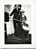 Double Bass, c. 1930s. Gelatin Silver Print Snapshot