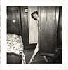 Tease, c. 1950. Gelatin Silver Print Snapshot