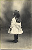 Child from Left Rear, c. 1915. Real Photo Post Card