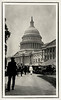 Capitol Building, Ku Klux Klan Rally, Washington, DC, c. 1920. Gelatin Silver Print Snapshot