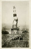 Balancing Act, c. 1925. Real Photo Post Card
