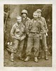American GIs in the Field, World War II. Gelatin Silver Print