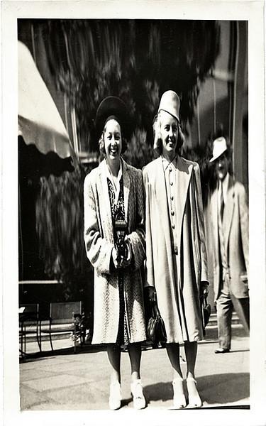 Distorting Mirror, c. 1930s. Gelatin Silver Print