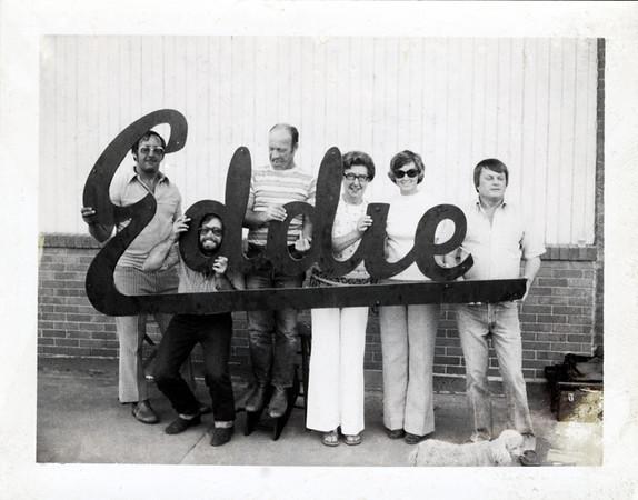 Eddie, c. 1960s. Polaroid Snapshot