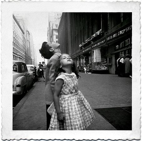 Lost in Their Own World, c. 1950s Gelatin silver Print Snapshot