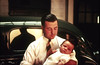 Dean Chittenden, Boston, MA. Father and Son, c 1938. Kodachrome Transparency