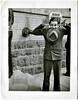 Mugging for the Camera, c. 1940s. Gelatin Silver Print Snapshot