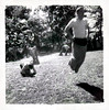 Sack Race, c. 1950s. Gelatin Silver Print Snapshot