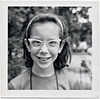 Debbie, Age 9, Columbus, OH, 1963. Gelatin Silver Print Snapshot