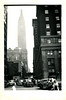 Empire State Building, New York, NY, c. 1948. Gelatin Silver Print Snapshot