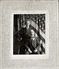 McAlpin Photo. Two Middle Aged Brothers, 1899. Gelatin Silver Print on an Oregon Emergency Corps Mount