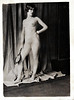 Nude with Hand Mirror, c. 1910. Gelatin Silver Print Snapshot