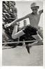 High Jump, c. 1930s. Gelatin Silver Print Snapshot