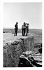 Group of Cowboys Overlooking the Grand Canyon, AZ, 1951. Gelatin Silver Print Snapshot