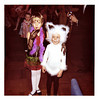 Children at a Costume Party, c. 1970s. Dye Coupler Print Snapshot
